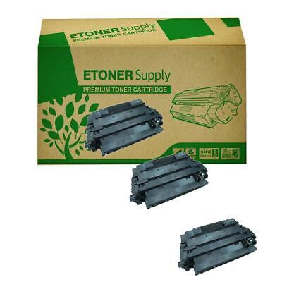 10PK CE255A 55A Black Toner Cartridge For HP LaserJet Enterprise flow MFP M525C