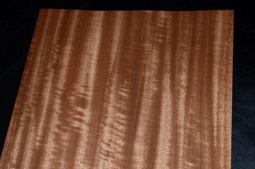 Mahogany Wood Veneer Sheets 8 x 30  inches 1//42nd                  F8634-9