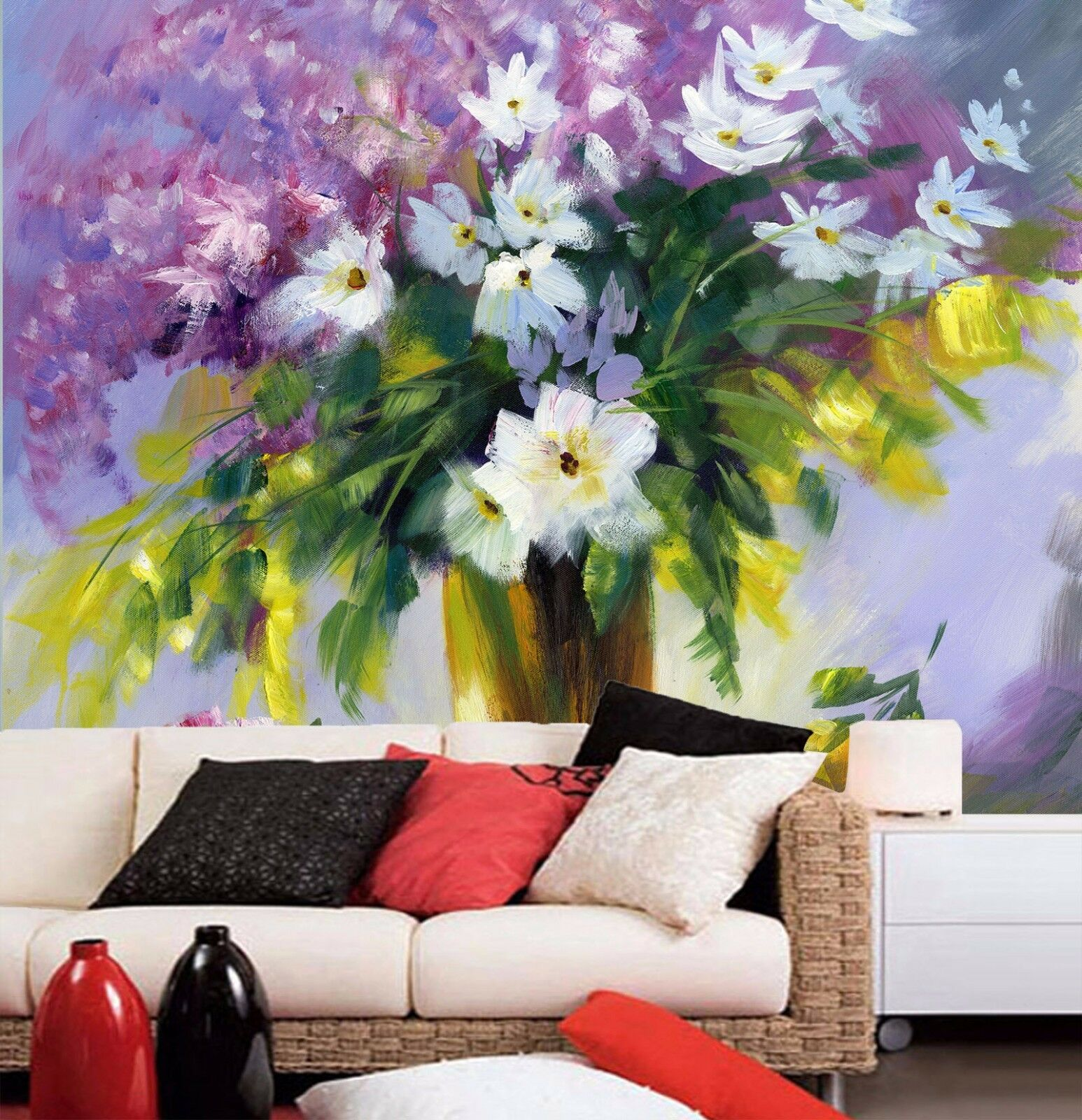 3D Impression Flower Art 6638 Wall Paper Wall Print Decal Wall AJ WALLPAPER CA