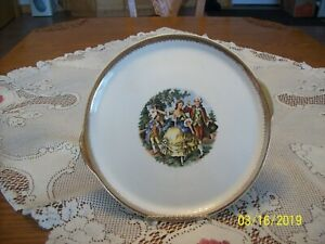 The-Cronin-China-Vtg-Victorian-Courting-Couple-Handled-Serving-Cake-Platter