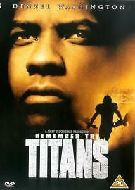1 of 1 - Denzel Washington, Will Patton-Remember the Titans  DVD NEW SEALED COPY