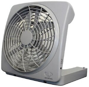 TRAGBARER-VENTILATOR-PORTABLE-FAN-MIT-BATTERIEBETRIEB-IDEAL-FUR-BOOT-CAMPING-SEE