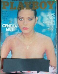 PLAYBOY ITALIA DICEMBRE 1980 ORNELLA MUTI  FUMETTO DI BONVI SEX CINEMA 80