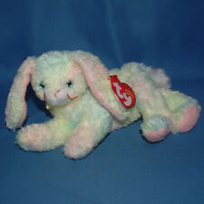 2efee5272b1 2001 Ty Beanie Baby Babies Cottonball Bunny Rabbit Tags Plush Stuffed Animal