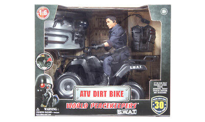 World Peacekeepers SWAT ATV Dirt Bike with Action Figure 1