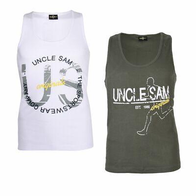 100% QualitäT Uncle Sam Shirt Herren Muskel Shirt Sport Verschiedene Styles Volumen Groß
