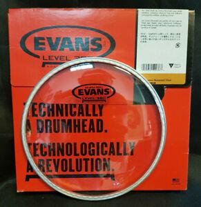 Evans-TT12GR-Genera-Resonant-12-034-Tom-Fell-Klar-Level-360-daddario-Head-12-Zoll