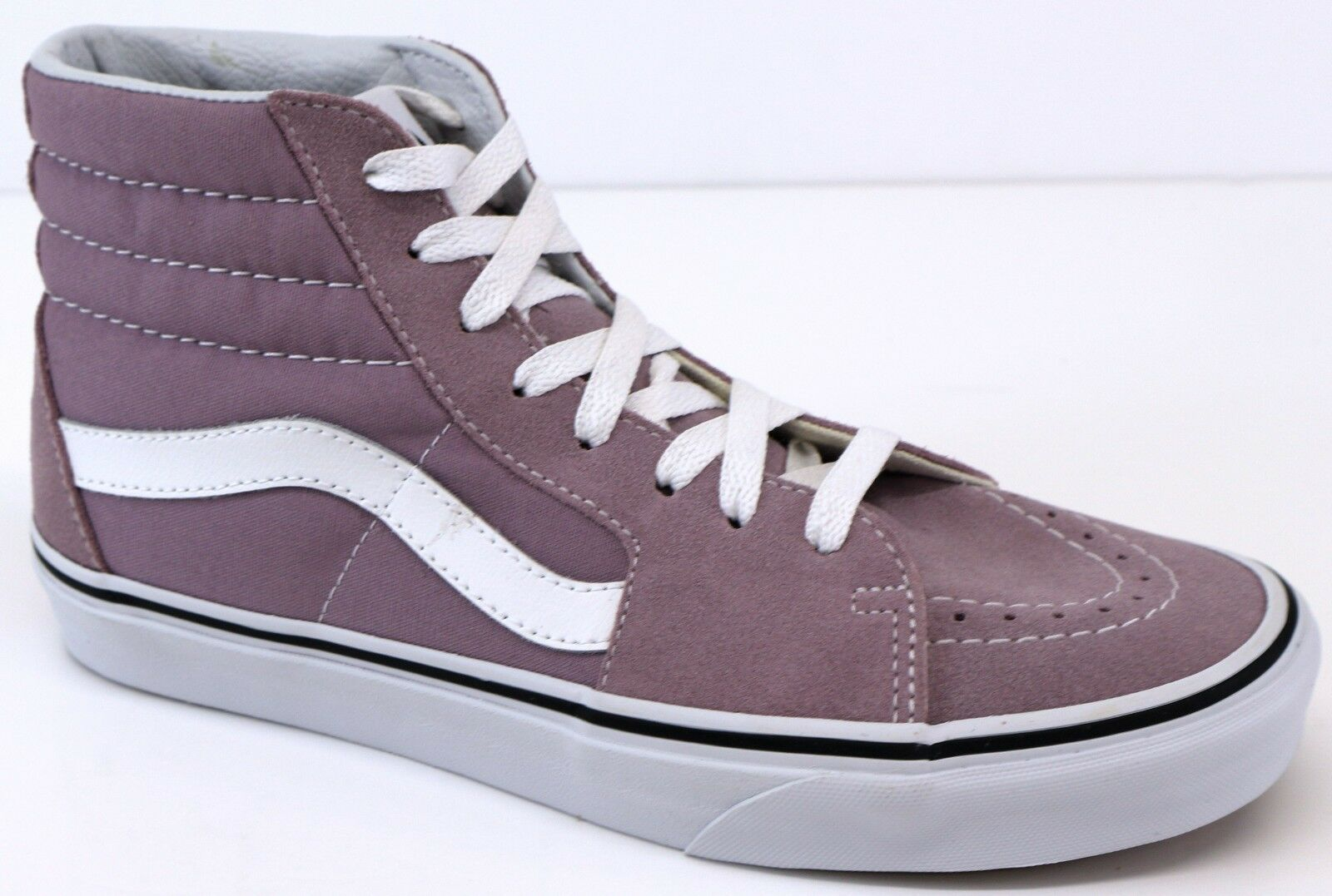1d574be50eaa VANS Sk8 Hi Sea Fog Pink True White Trainers Shoes UK 4 EUR 36.5 for ...