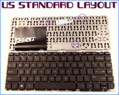 New Laptop US Keyboard for HP Pavilion 14-n000 14-n200 14-n014nr NO Frame