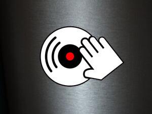 Detalles De 1 X Adhesivo Dj Vinilo Scratch Lp Club Fiesta Music Sticker Tuning Pegatinas Auto Ver Título Original