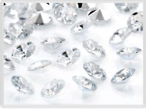 US Wedding Table Confetti Hearts Diamond Acrylic Crystals Diamante Gem Party
