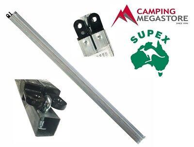 SUPEX TENT PEG HEAVY DUTY GALVANISED STEEL 450MM X 12MM