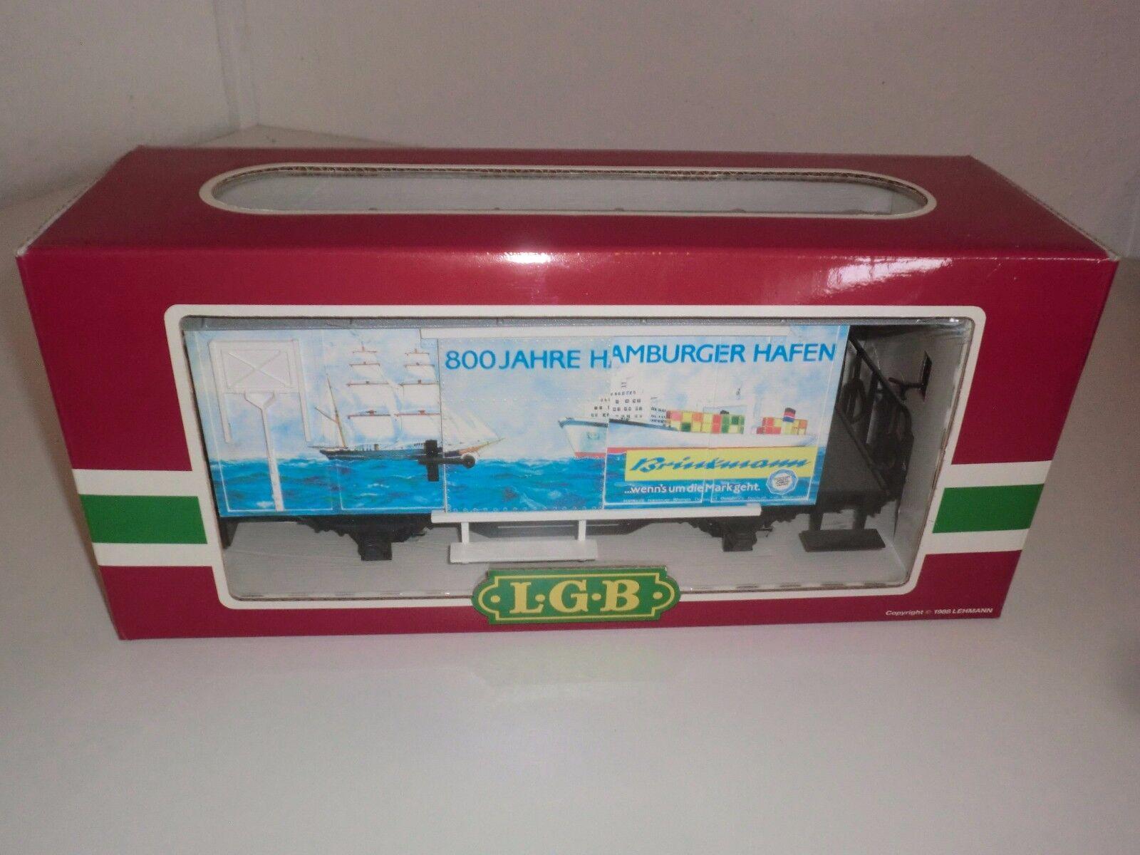 Lehmann LGB Tren 4028 Hh Vagón de Cochega Cerrado 800 Años Hamburger Hafen