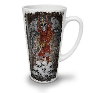 Katana Skeleton Skull NEW White Tea Coffee Latte Mug 12 17 oz | Wellcoda