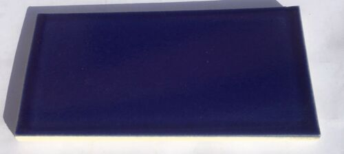 1 Sq Ft Surplus Trikeenan Tile Cobalt Blue 3x6 Subway Tile