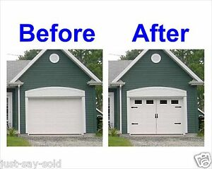 Image Is Loading Carriage House Style Vinyl Garage Door Decal Kit
