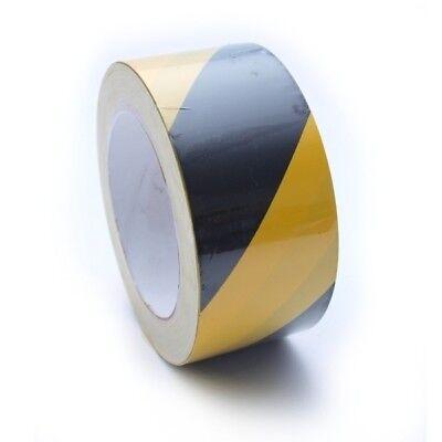Klug Warnband 510-50sg Schwarz Gelb Klebeband Tape Markierungsband Warnklebeband SchöN In Farbe