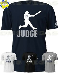 huge selection of d60d9 1c143 Details about New York Yankees Aaron Judge Jersey Tee T Shirt Shadow Men  Size S-5XL