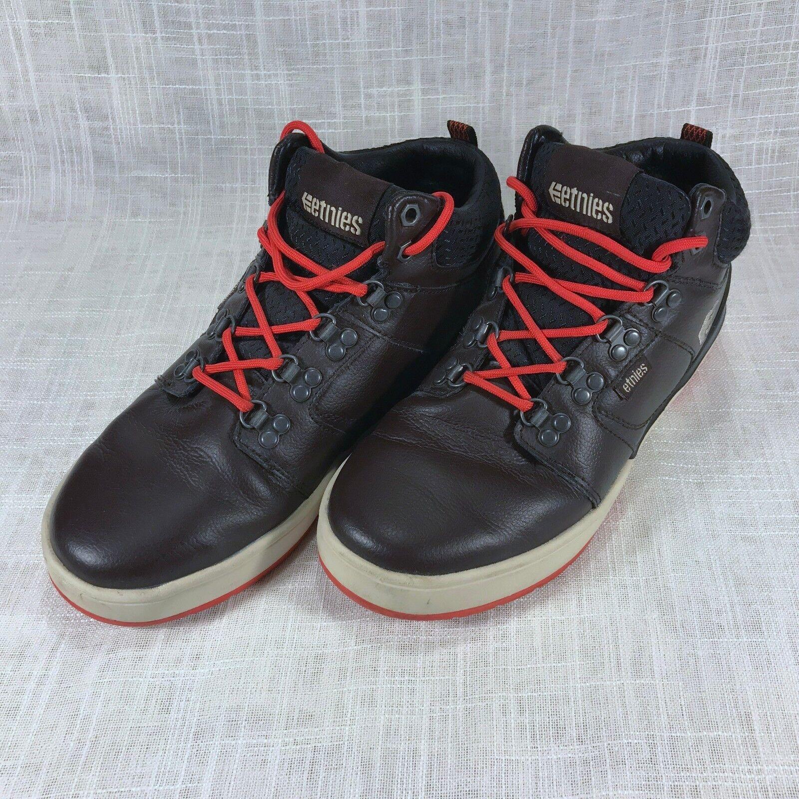 new product d212e 273cf Etnies High Rise ODB LX LX LX Skate Shoe   Sneaker - Dark Brown - Size