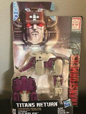 Transformers Generations Titans Return Titan Master Autobot Shuffler Headmaster
