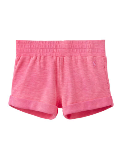 *BNWT* Joules Girls Kittiwake Neon Candy Bright Pink Shorts Soft Comfy Cotton