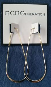 BCBGeneration-Gold-tone-Teardrop-Earrings-thread-type-21-2-034-drop