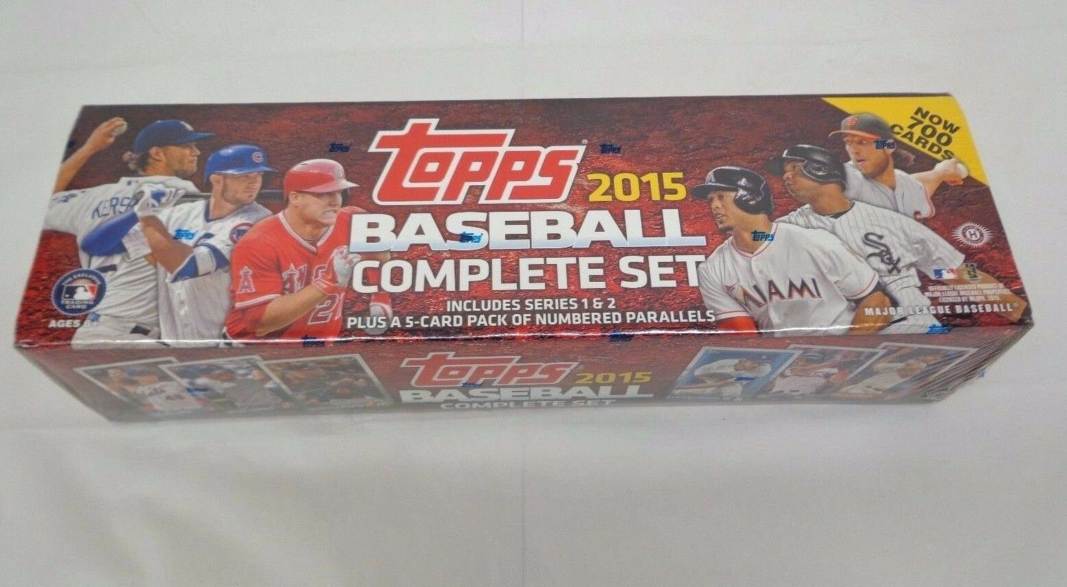 2015 Topps Baseball Complete Hobby Factory Set 700 Cards 5 Numbered Parrallels