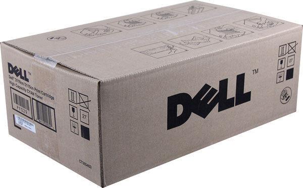 Genuine DELL 3110cn 3115cn BLACK Toner Cartridge High Yield 8K Pg PF030