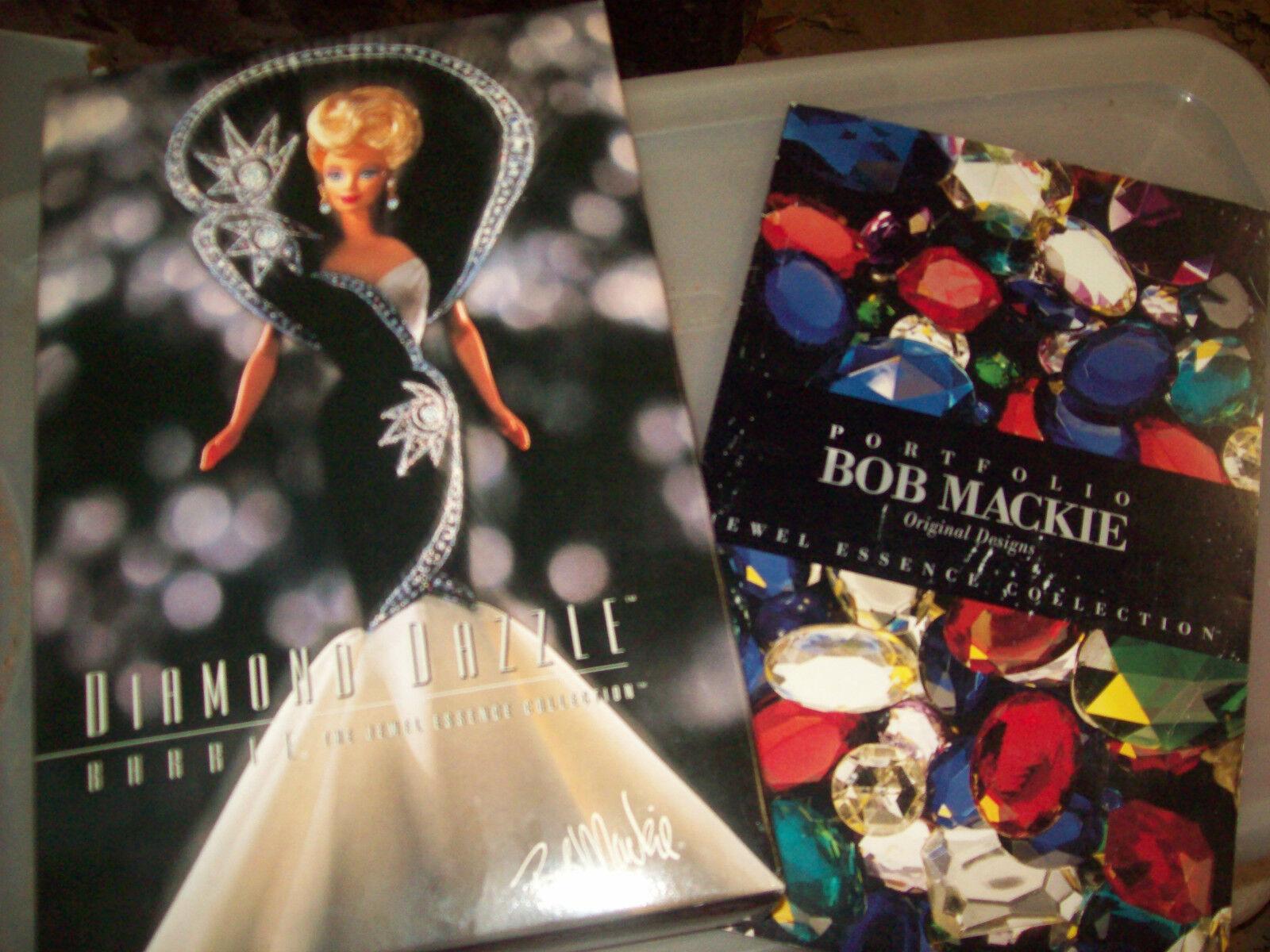 Los 5 Barbies En Joya esencia Bob Mackie Collection