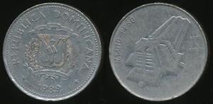Dominican-Republic-Republic-1989-1-2-Peso-National-Culture-Very-Fine