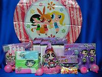 Powerpuff Girls Party Set 10 M Powerpuff Girls Party Pieces Powerpuff Favors