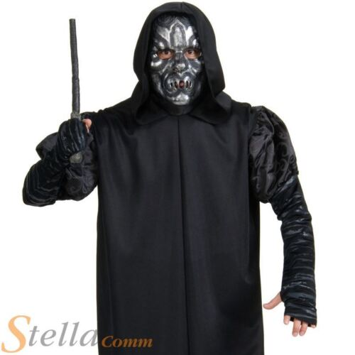 Adult Death Eater Harry Potter Halloween Fancy Dress Costume Adult Outfit