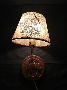 Vintage lamp horseshoe lamp beautiful wall light w shade lucky vintage lamp horse shoe lamp beautiful wall light aloadofball Choice Image