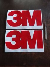 2x 3M Company logo Decals Spray Gun Paint Booth Work Shop Wall Sticker Body