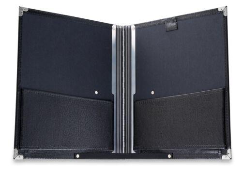 Super Din A4 Notenmappe Standard zur Aufbewahrung von Sheet Music Noten Schwarz