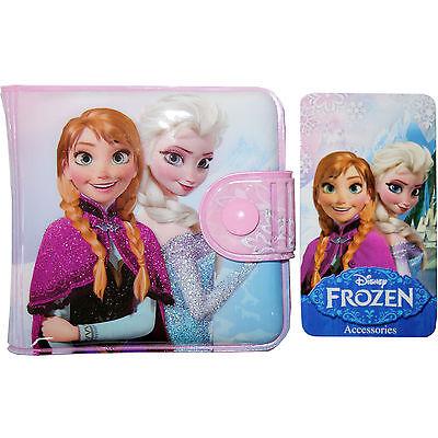 Disney Frozen Cartoon Girl Wallet Coin Purse Kid Children Princess Gift XMAS Toy