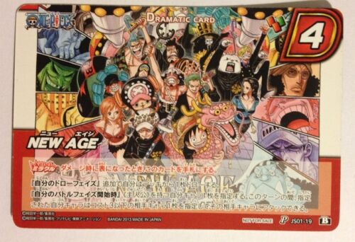 One Piece Miracle Battle Carddass Promo JS01-19