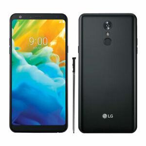 New-LG-Stylo-4-Q710AL-Black-Sprint-32GB-Android-8-0-4G-LTE-Smartphone