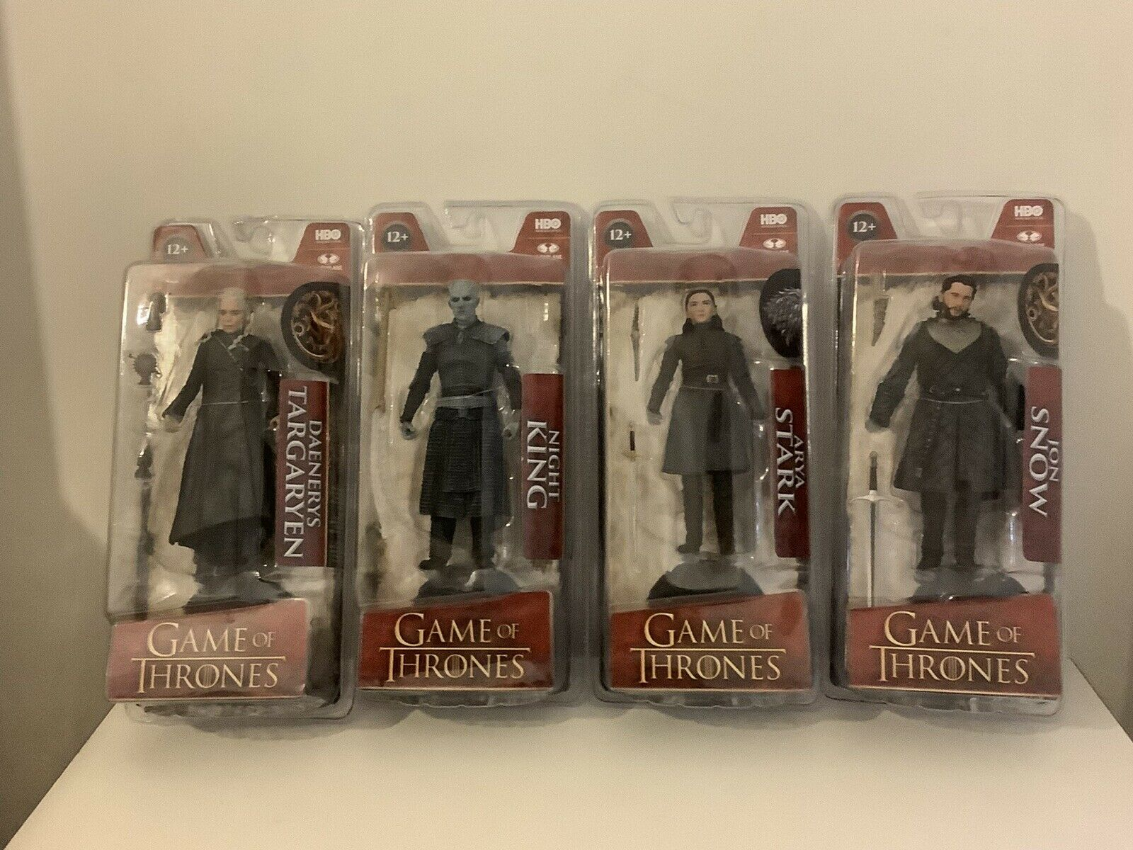 Game Of Thrones Series 1 Set Four Figures McFarlane Toys