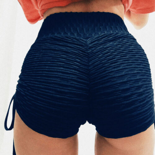 Women/'s Compression Yoga Shorts Biker Push Up Sports Gym Casual Fitness Pants O7