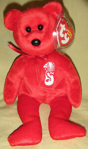 Ty MERLION Beanie Baby the Asian Pacific Exclusive Bear - MWMT