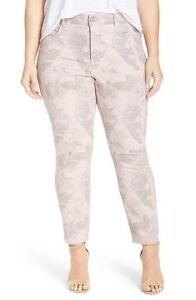 864859f75c374 NWT Not Your Daughter s Jeans NYDJ Ira in Pink Floral Stretch ...