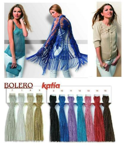50g bolero katia algodón con brillo elegante lana Edel brillo Garn 7,90 €//100g