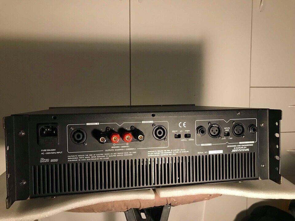 Effektforstærker, JB Systems, Ctwo 800