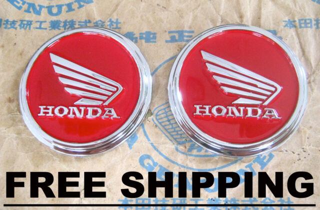 Honda Monkey Z50 J Z50j Z50a Z50k Gorilla Gas Tank Emblem Set Gratis Versand
