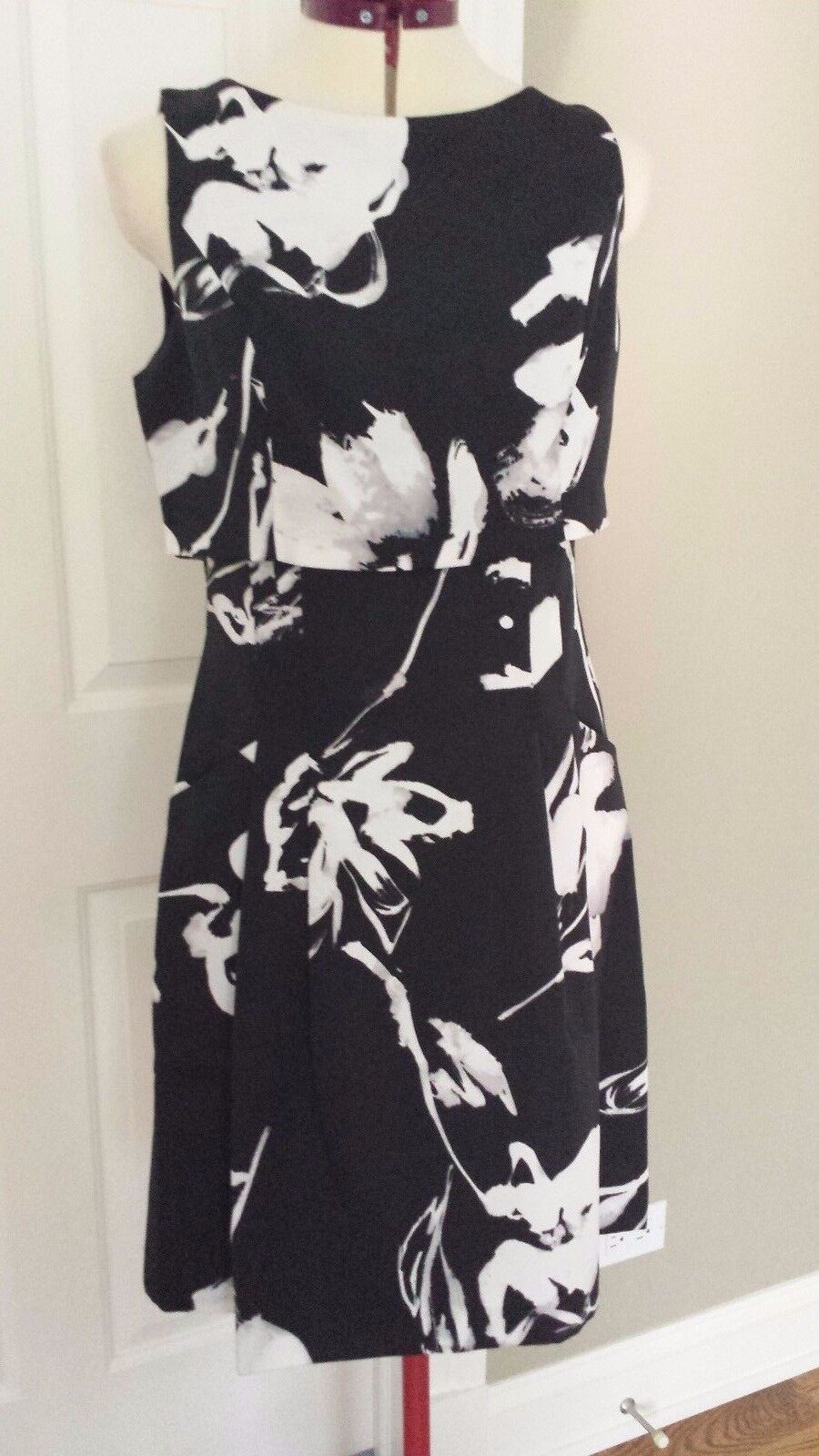 94db1f31 Ralph Lauren Floral-Print A-Line Size 8 Dress Overlay ooajyh26536 ...