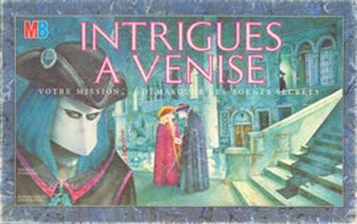 Jeu de société Intrigues à Venise démasquer les agents secrets Votre mission
