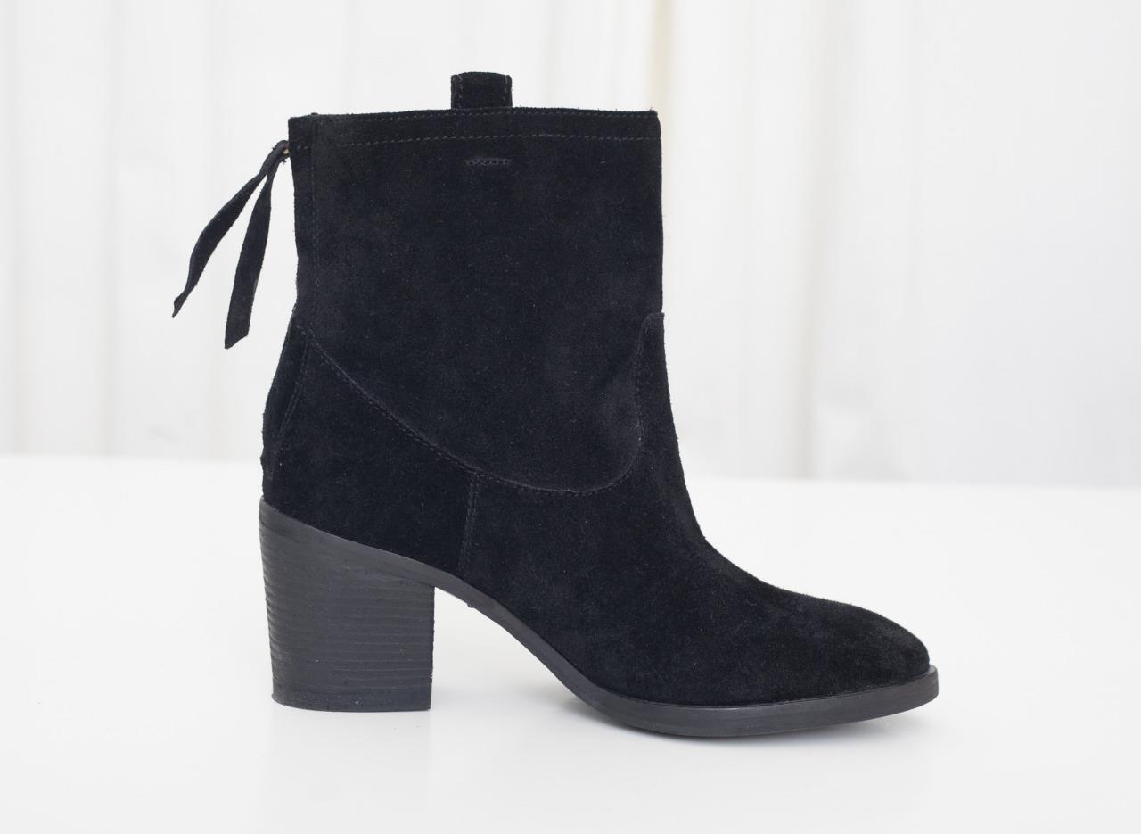 alta qualità genuina SAM EDELMAN Donna  nero Suede Chunky Round-Toe Ankle avvioie avvioie avvioie avvio scarpe 6.5 NEW  Offriamo vari marchi famosi