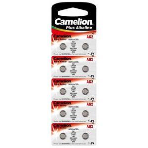 Piles-boutons-AG-2-LR59-LR726-396-Camelion-Expedition-rapide-et-gratuite