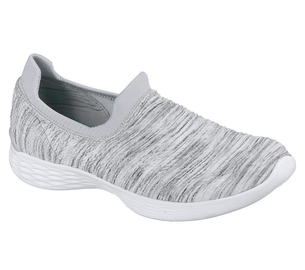 NEU SKECHERS Damen Sneakers Turnschuhe Slip On Casual GRACE YOU DEFINE - GRACE Casual Weiß 7be53c
